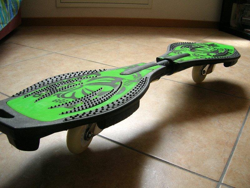 Skateboard a due ruote