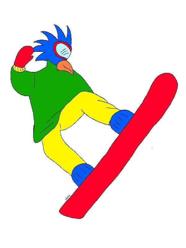 Gioco dello snowboard